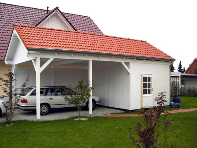 beautiful mit carport with carport holz wei